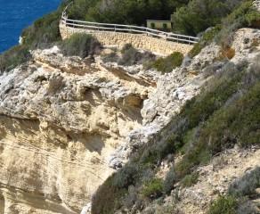 Pinar de la Breña y acantilados de Barbate